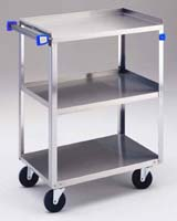 LAKESIDE STAINLESS STEEL ANGLE-LEG CART
