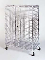 Chrome Security Cart