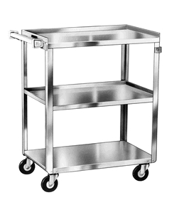 LAKESIDE STAINLESS STEEL UTILITY CARTS